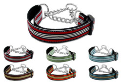 Preppy Stripe Martingale Collars
